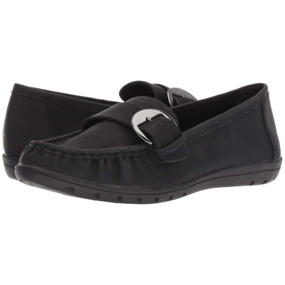 ソフトスタイル Soft Style レディース ローファー・オックスフォード シューズ・靴【Vivid】Black