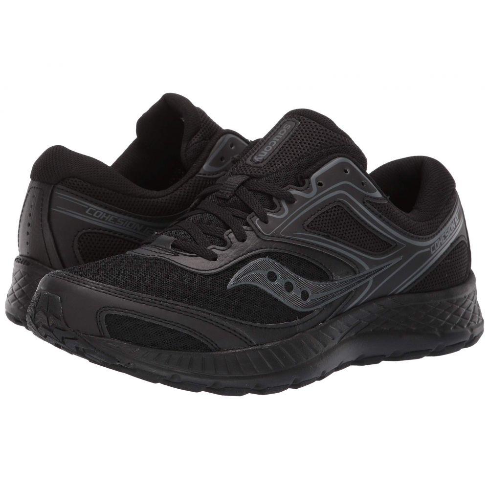 サッカニー Saucony メンズ ランニング・ウォーキング シューズ・靴【Versafoam Cohesion 12】Black/Black