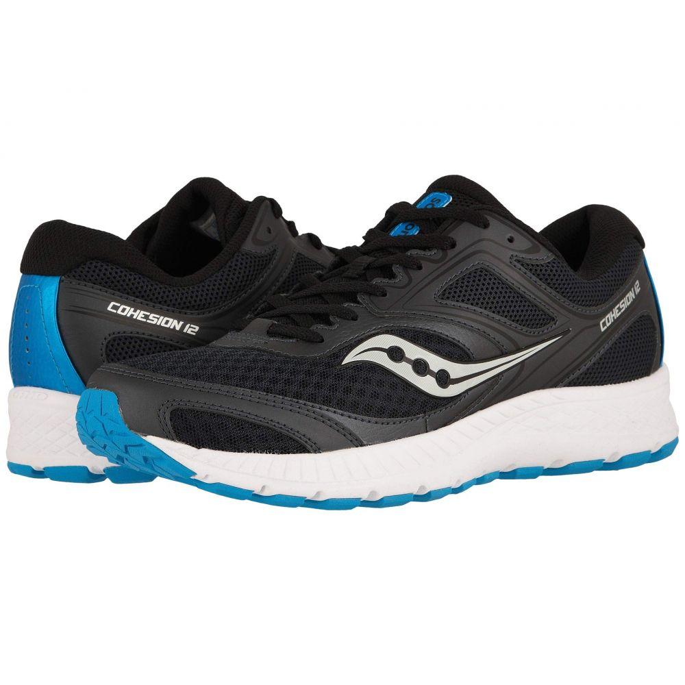 サッカニー Saucony メンズ ランニング・ウォーキング シューズ・靴【Versafoam Cohesion 12】Black/Blue