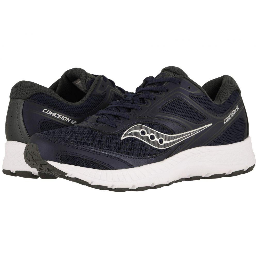 サッカニー Saucony メンズ ランニング・ウォーキング シューズ・靴【Versafoam Cohesion 12】Navy