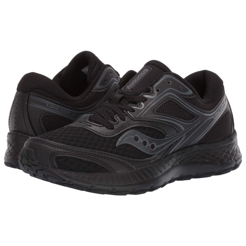 サッカニー Saucony レディース ランニング・ウォーキング シューズ・靴【Versafoam Cohesion 12】Black/Black