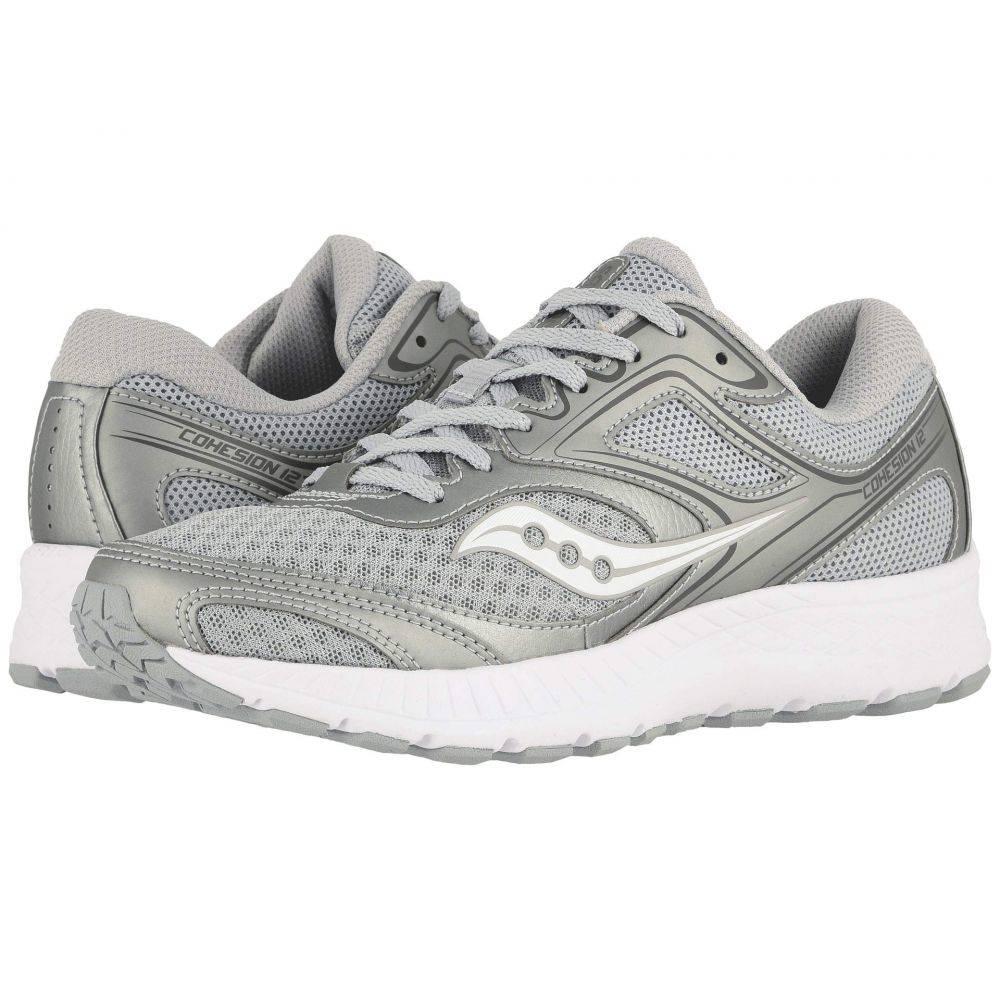 サッカニー Saucony レディース ランニング・ウォーキング シューズ・靴【Versafoam Cohesion 12】Gray/Silver
