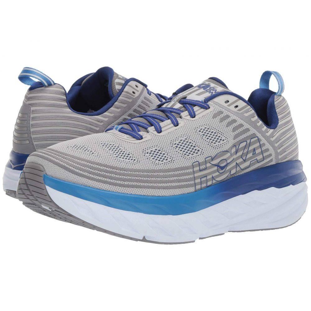 ホカ オネオネ Hoka One One メンズ ランニング・ウォーキング シューズ・靴【Bondi 6】Vapor Blue/Frost Gray