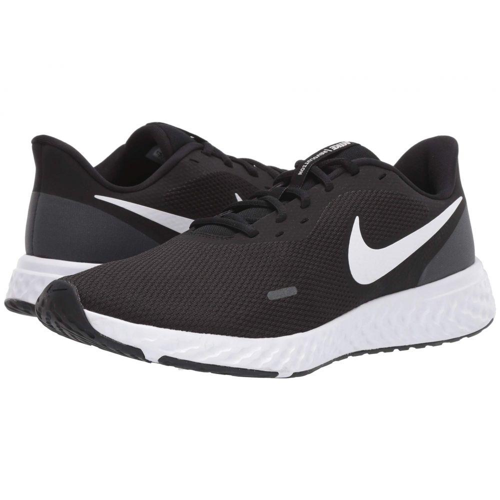 ナイキ Nike メンズ ランニング・ウォーキング シューズ・靴【Revolution 5】Black/White/Anthracite
