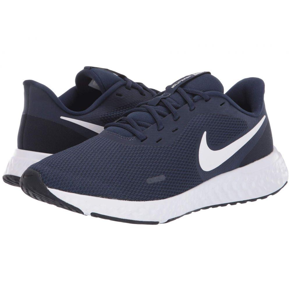 ナイキ Nike メンズ ランニング・ウォーキング シューズ・靴【Revolution 5】Midnight Navy/White/Dark Obsidian