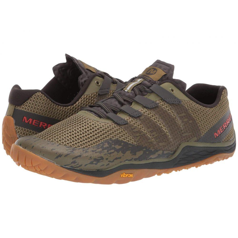 メレル Merrell メンズ ランニング・ウォーキング シューズ・靴【Trail Glove 5】Olive Drab/Beluga