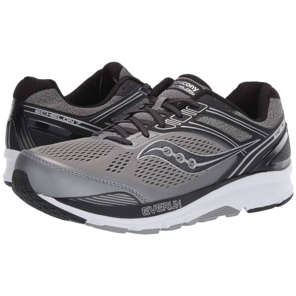 サッカニー Saucony メンズ ランニング・ウォーキング シューズ・靴【Echelon 7】Grey/Black