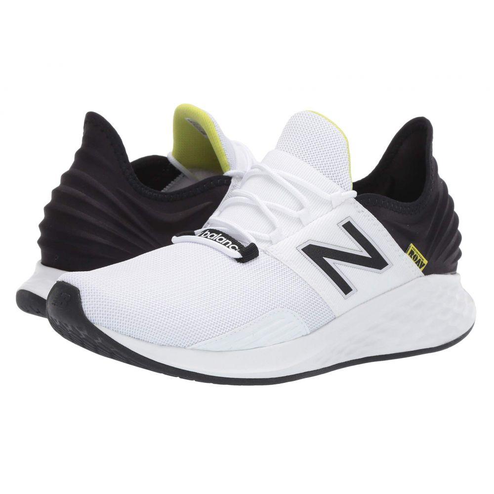 ニューバランス New Balance メンズ ランニング・ウォーキング シューズ・靴【Fresh Foam Roav】White/Black