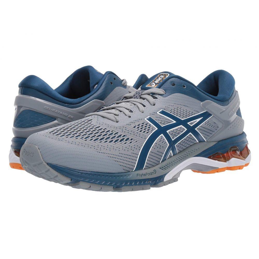 アシックス ASICS メンズ ランニング・ウォーキング シューズ・靴【GEL-Kayano 26】Sheet Rock/Blue