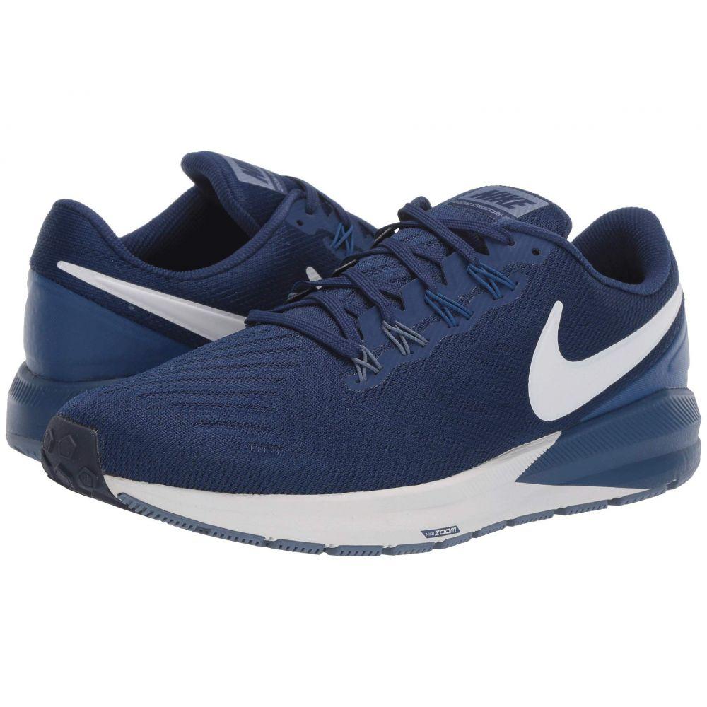 ナイキ Nike メンズ ランニング・ウォーキング エアズーム シューズ・靴【Air Zoom Structure 22】Blue Void/Vast Grey/Gym Blue