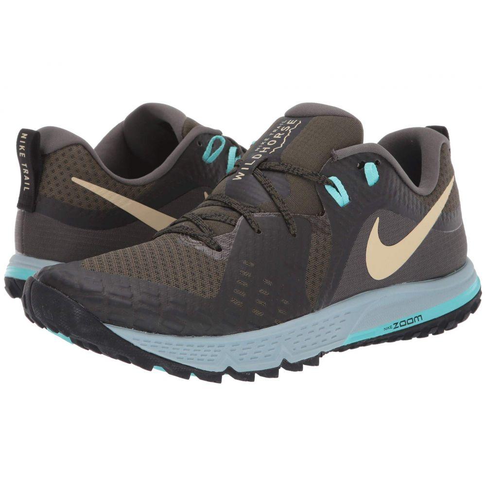 ナイキ Nike メンズ ランニング・ウォーキング シューズ・靴【Air Zoom Wildhorse 5】Cargo Khaki/Team Gold/Black/Ocean Cube