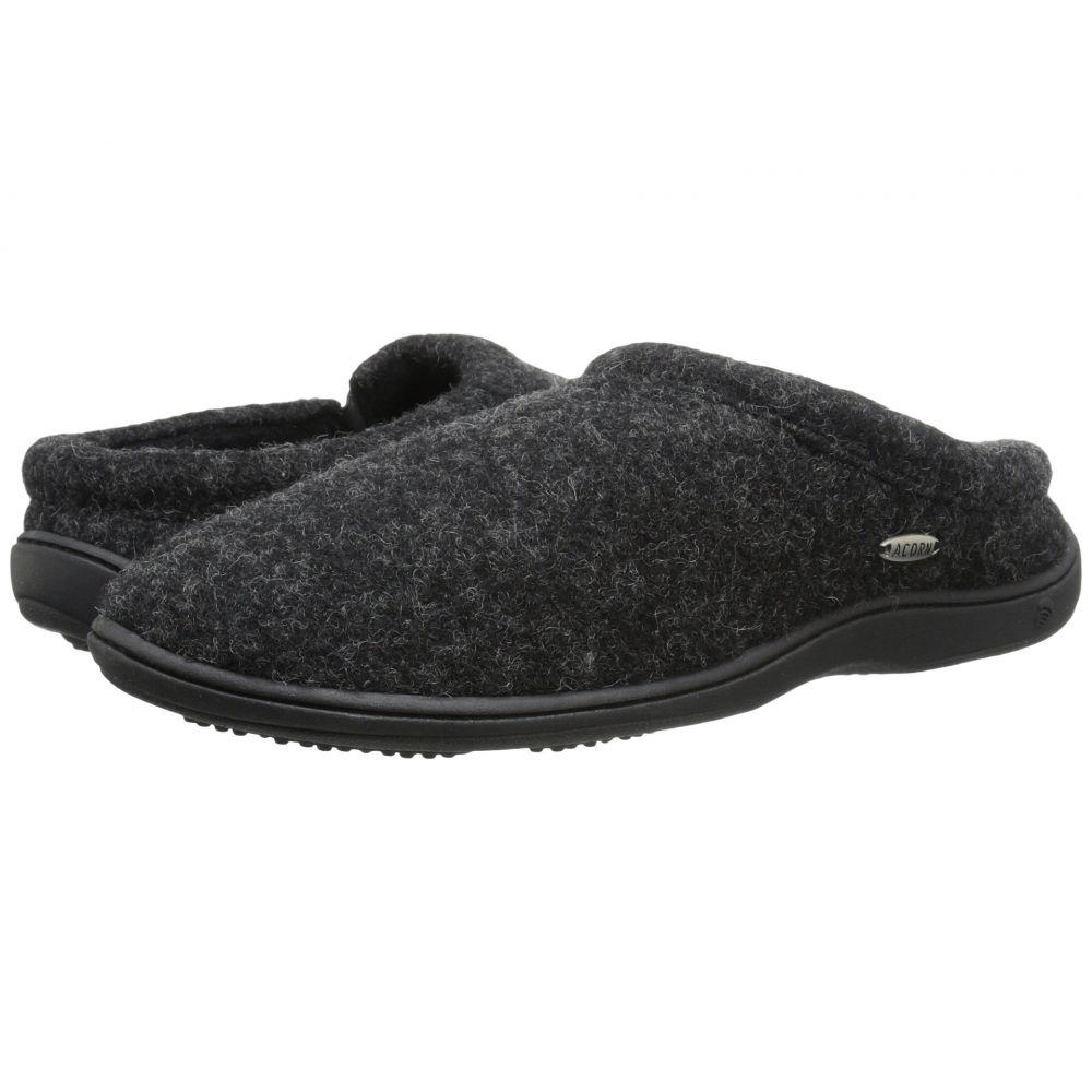 エーコーン Acorn メンズ スリッパ シューズ・靴【Digby Gore】Black Tweed
