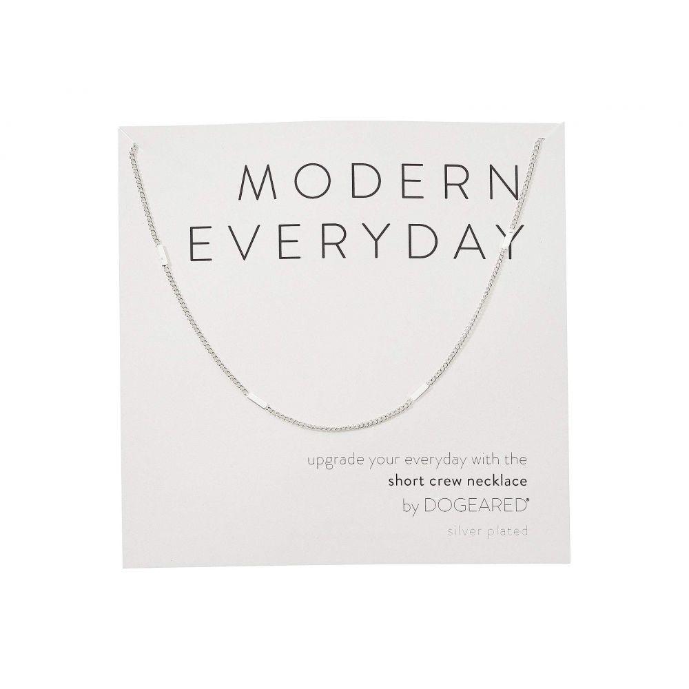 ドギャード Dogeared レディース ネックレス ジュエリー・アクセサリー【Modern Everyday, Short Crew Neck Necklace】Sterling Silver