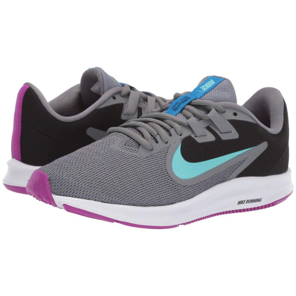ナイキ Nike レディース ランニング・ウォーキング シューズ・靴【Downshifter 9】Cool Grey/Light Aqua/Black/Vivid Purple