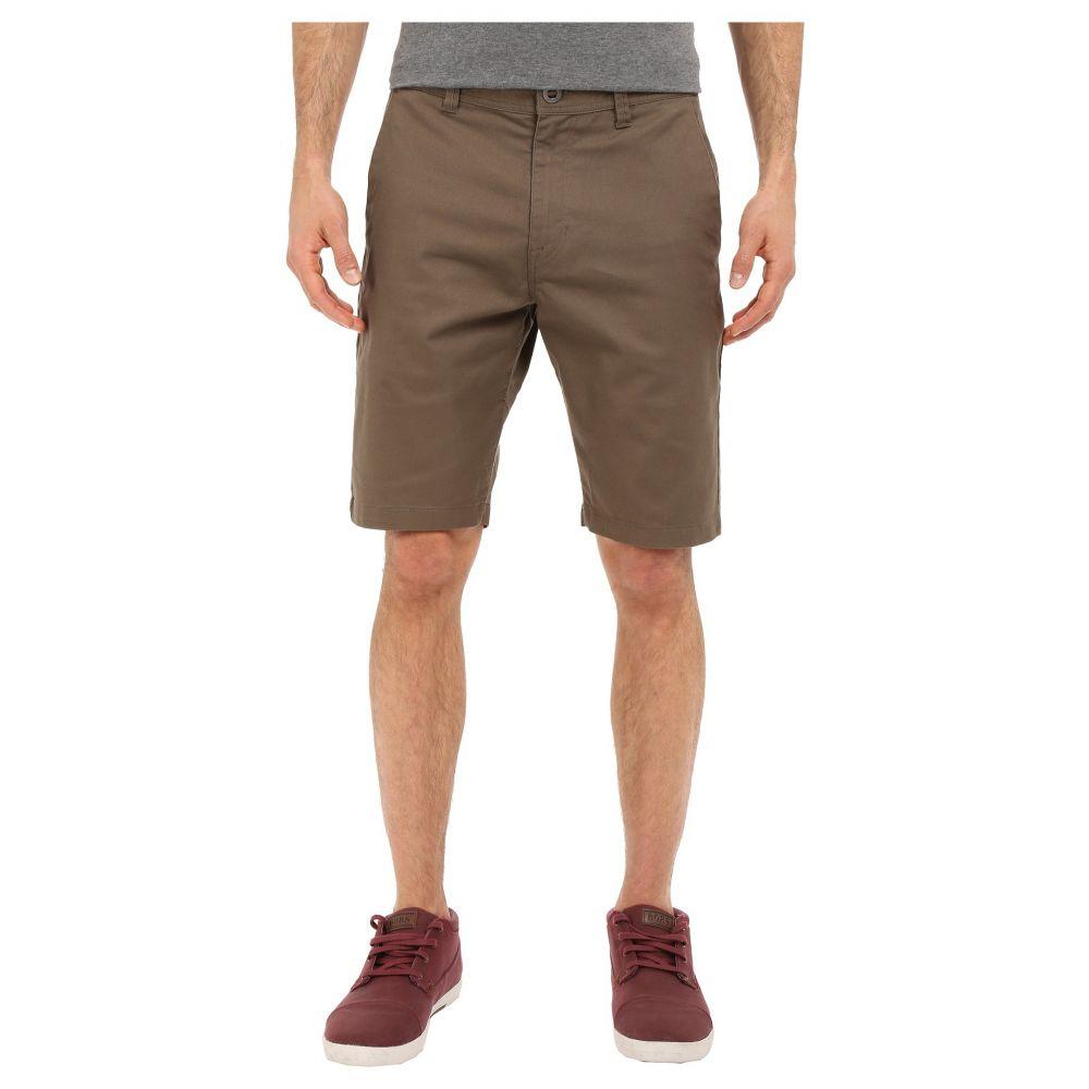 ボルコム Volcom メンズ ショートパンツ チノパン ボトムス・パンツ【Frickin Modern Stretch Chino Shorts】Mushroom