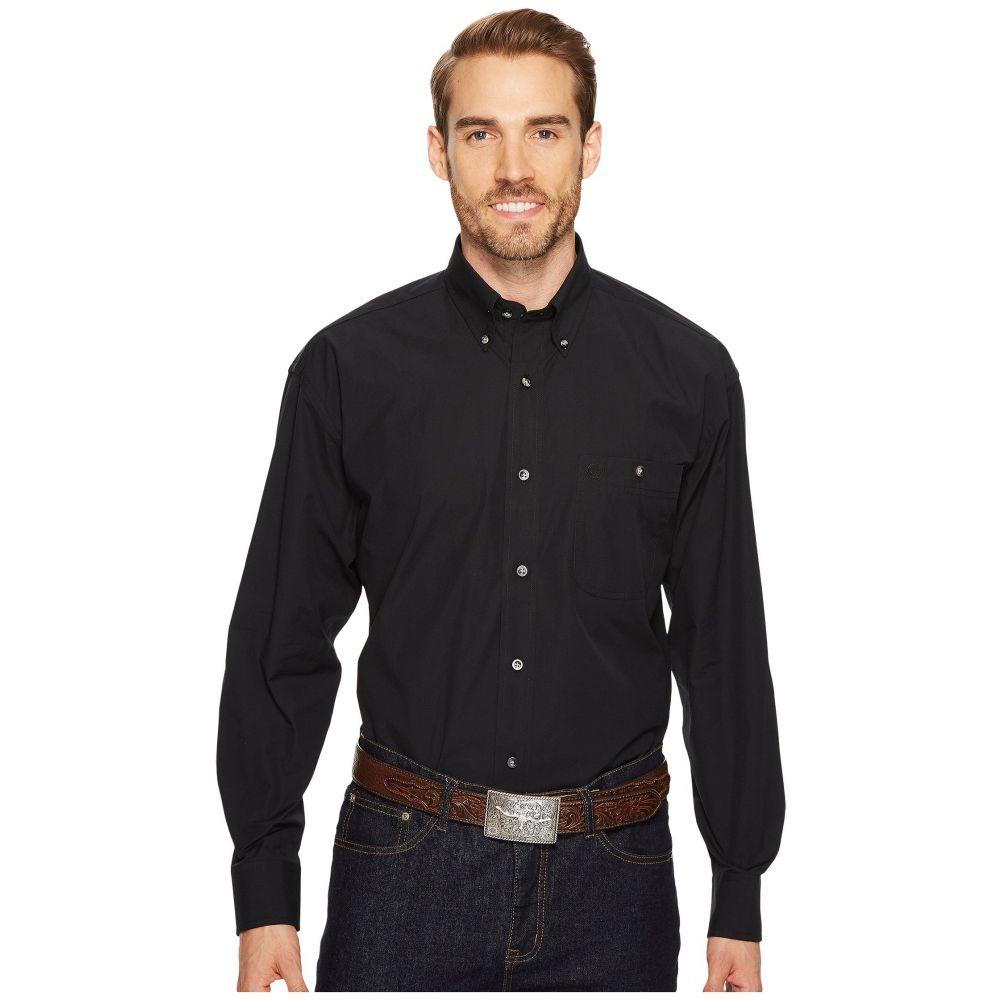 ラングラー Wrangler メンズ シャツ トップス【George Strait Shirt Solid】Black