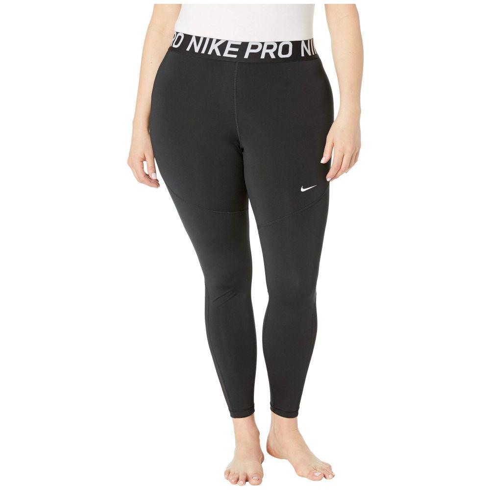 ナイキ Nike レディース スパッツ・レギンス インナー・下着【Pro Tights (Sizes 1X-3X)】Black/White