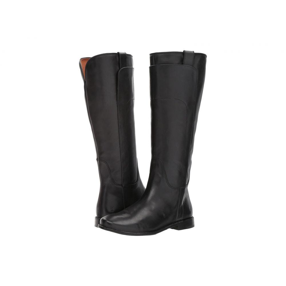 フライ Frye レディース ブーツ シューズ・靴【Paige Tall Riding】Black Smooth Vintage Leather