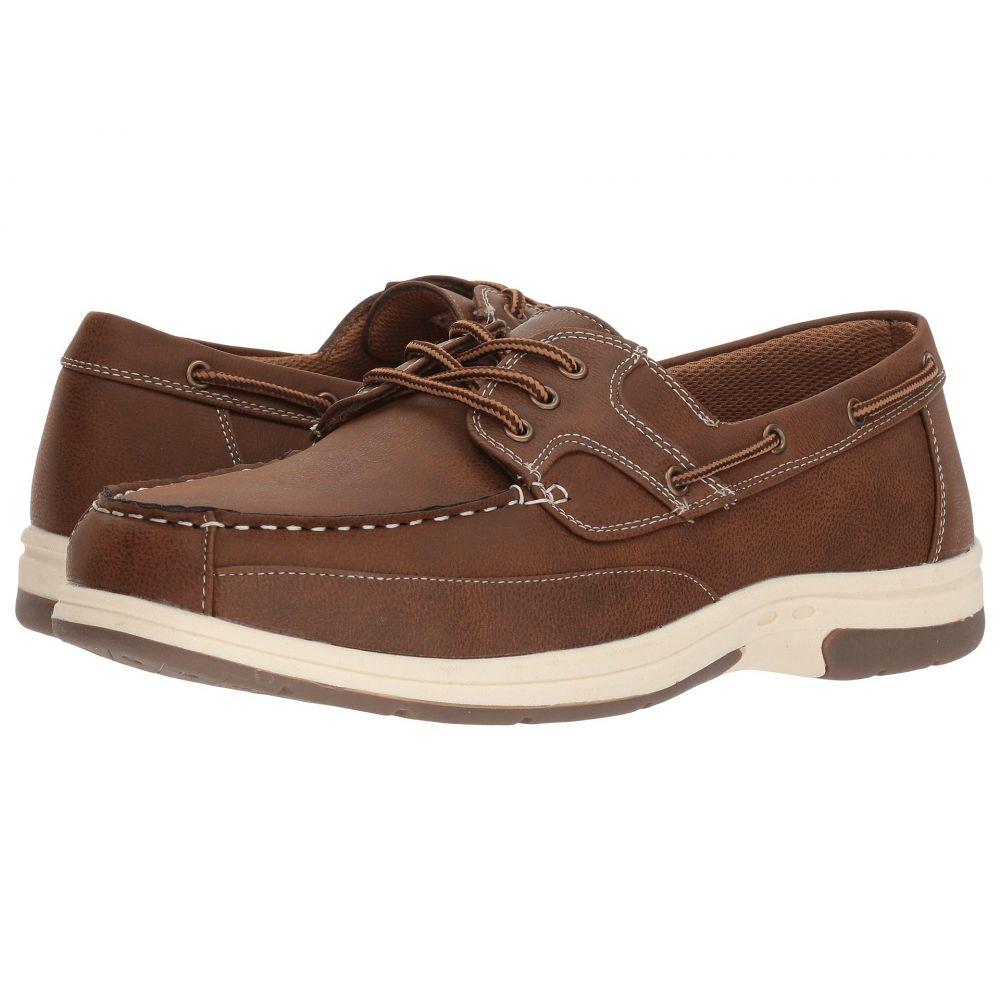 ディール スタッグス Deer Stags メンズ デッキシューズ デッキシューズ シューズ・靴【Mitch Boat Shoe】Dark Tan Simulated Oiled Leather