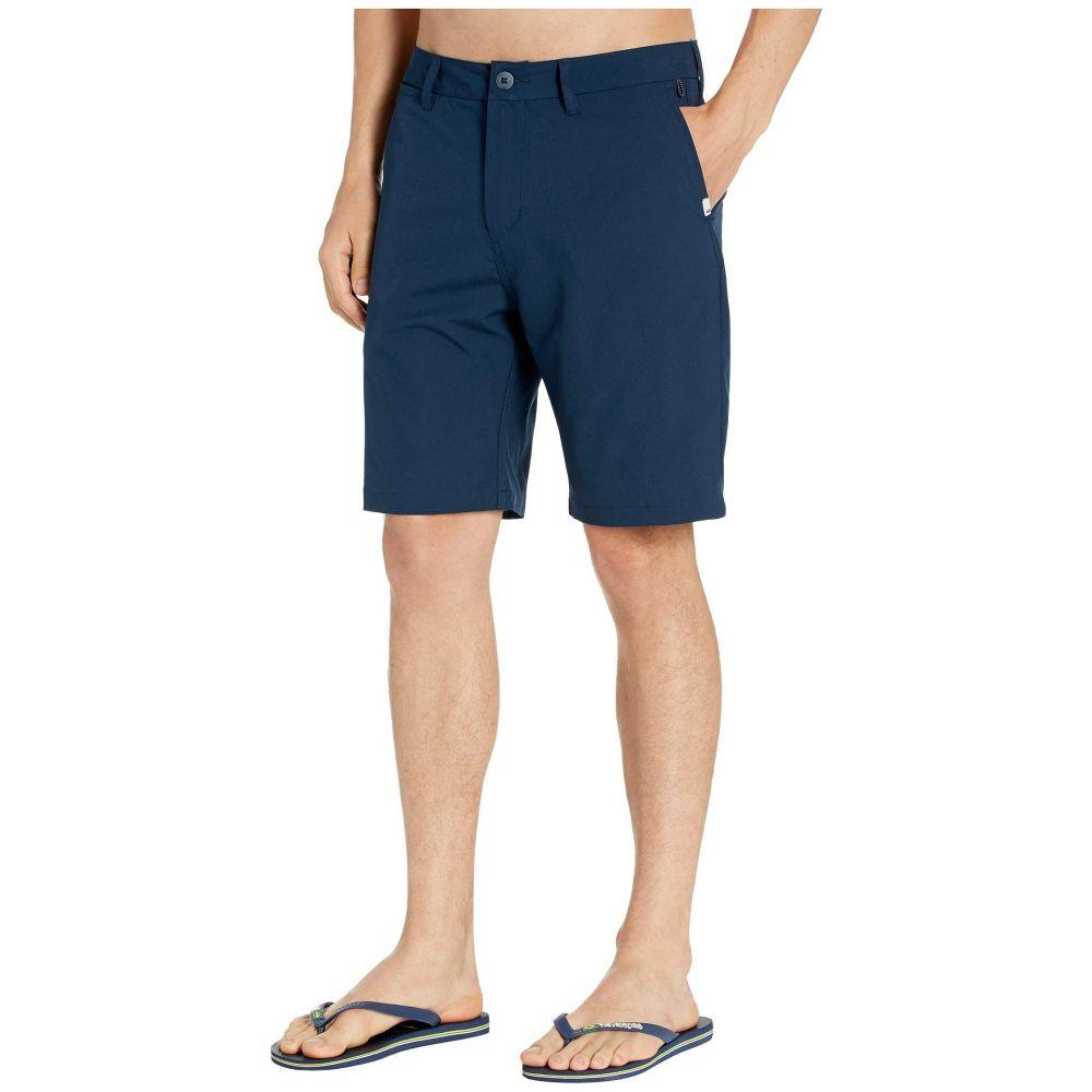 クイックシルバー Quiksilver メンズ ショートパンツ ボトムス・パンツ【20'' Union Amphibian Hybrid Shorts】Navy Blazer