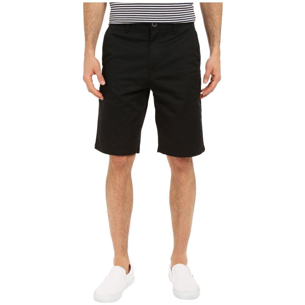 ボルコム Volcom メンズ ショートパンツ チノパン ボトムス・パンツ【Frickin Chino Shorts】Black