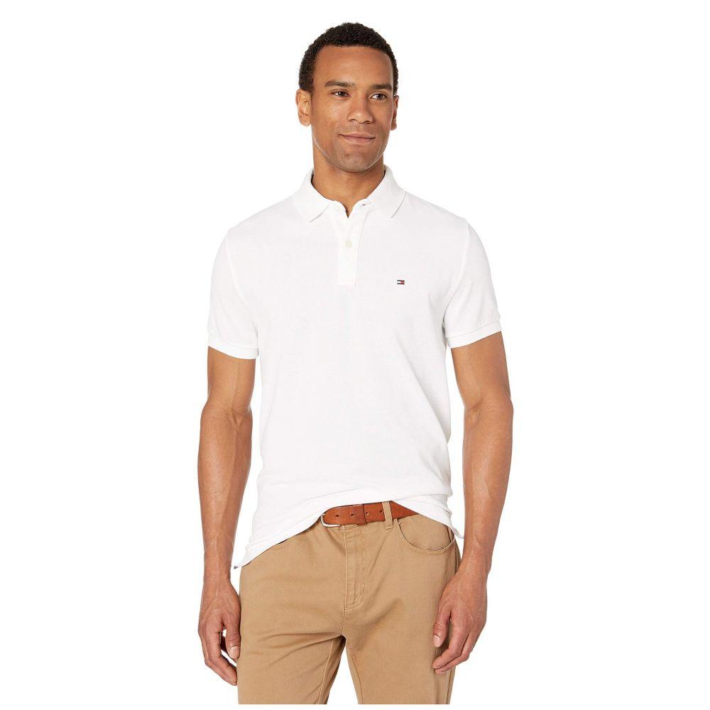 トミー ヒルフィガー Tommy Hilfiger メンズ ポロシャツ トップス【Ivy Polo Shirt Custom Fit】Bright White