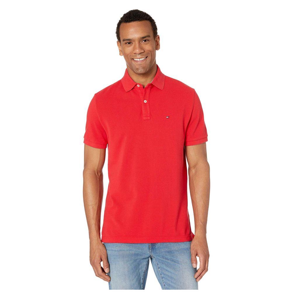 トミー ヒルフィガー Tommy Hilfiger メンズ ポロシャツ トップス【Ivy Polo Shirt Custom Fit】Apple Red