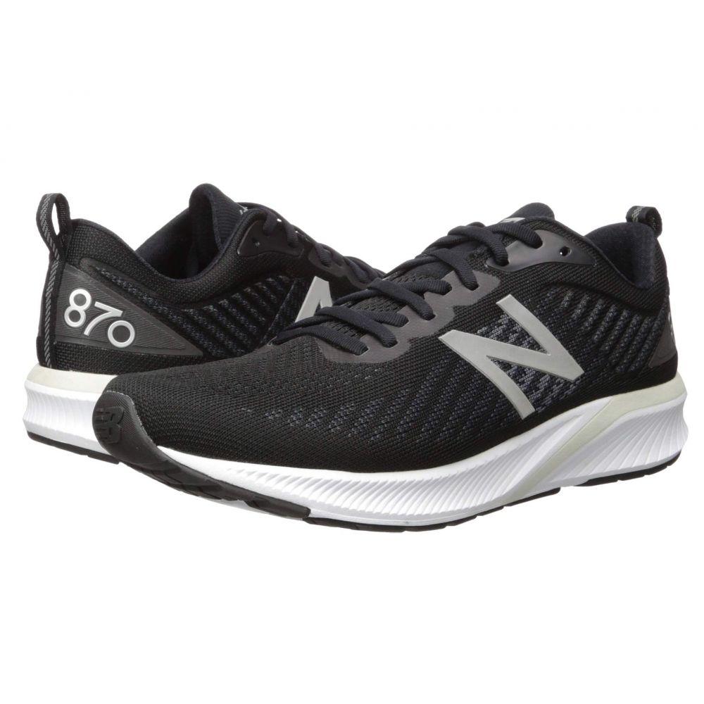 ニューバランス New Balance メンズ ランニング・ウォーキング シューズ・靴【870v5】Black/White