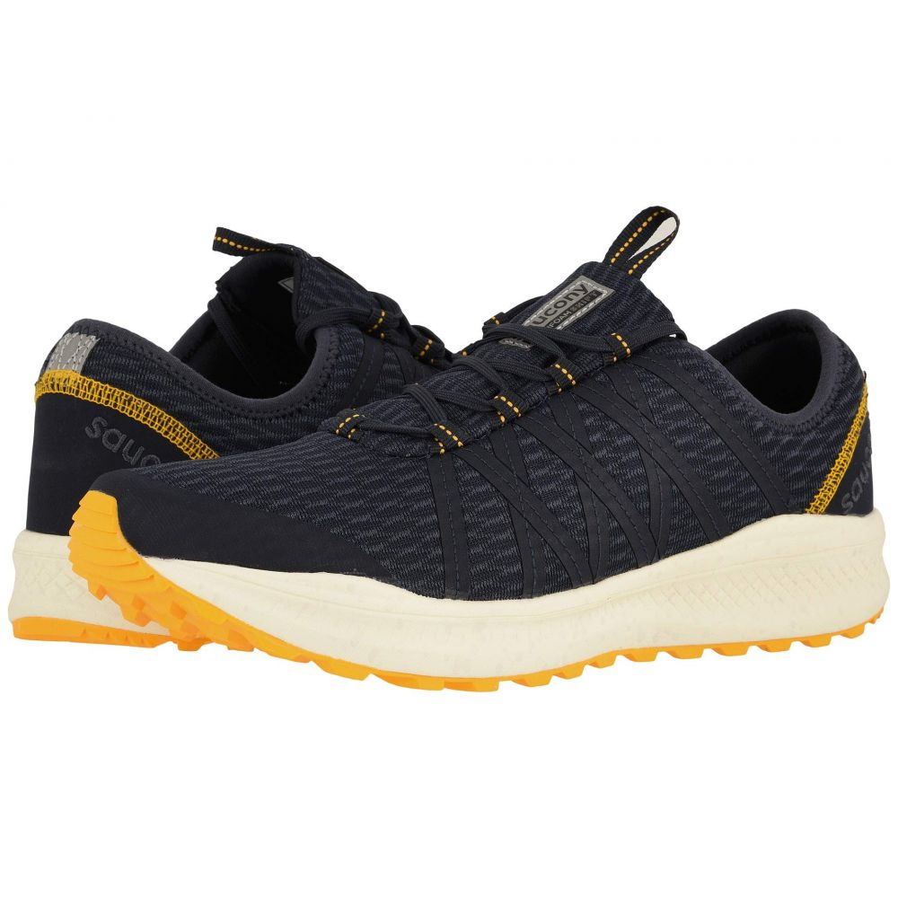 サッカニー Saucony メンズ ランニング・ウォーキング シューズ・靴【Versafoam Shift】Navy/Yellow