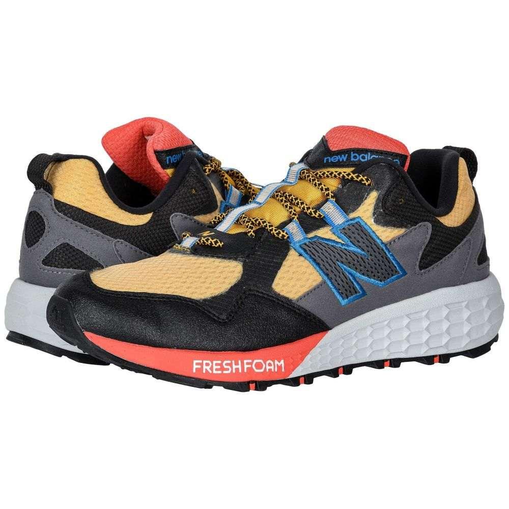 ニューバランス New Balance メンズ ランニング・ウォーキング シューズ・靴【Fresh Foam Crag v2】Varsity Gold/Black