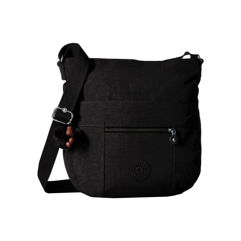 キプリング Kipling レディース ショルダーバッグ バッグ【Bailey Saddle Bag Handbag】Black