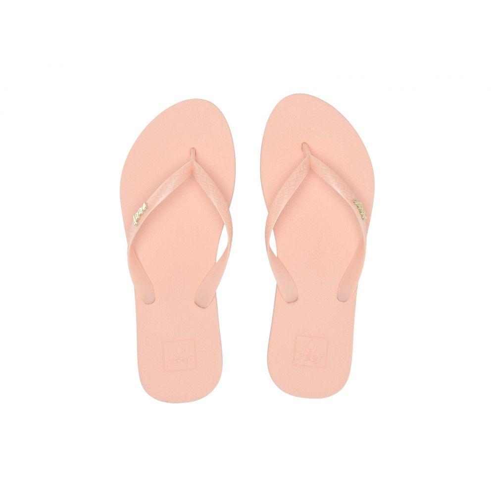 リーフ Reef レディース ビーチサンダル シューズ・靴【Escape Lux + Bling】Peach