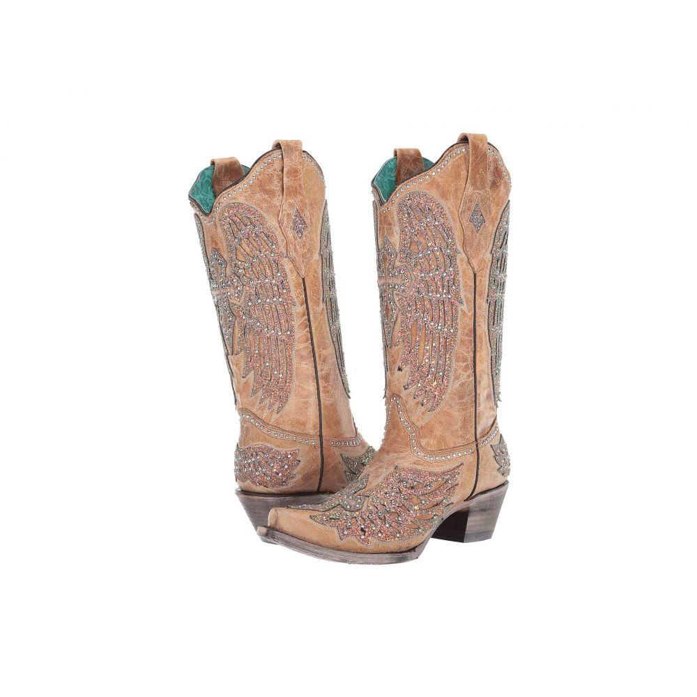 コラル Corral Boots レディース ブーツ シューズ・靴【A3742】Sand