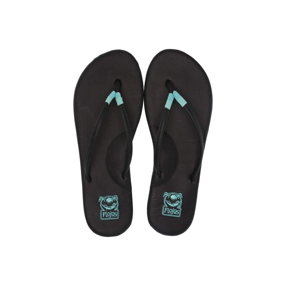 フロジョス Flojos レディース ビーチサンダル シューズ・靴【Mina】Black Multi