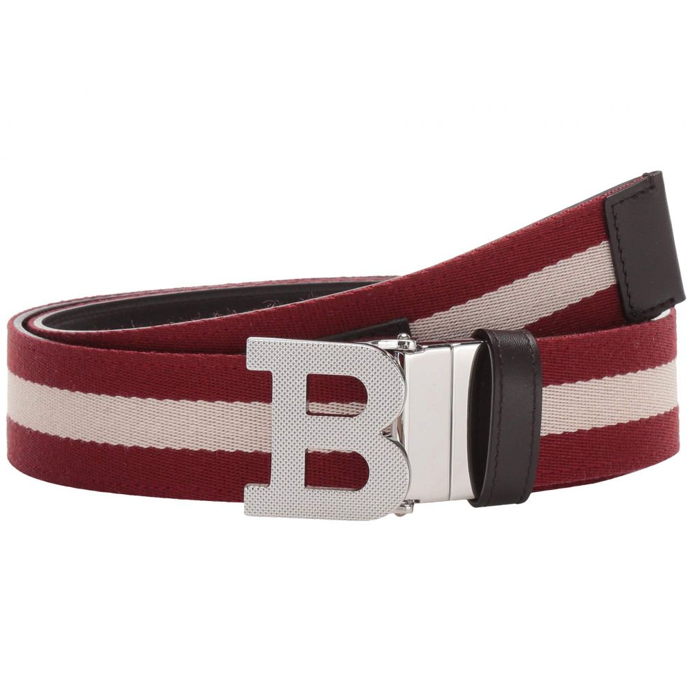 バリー Bally メンズ ベルト 【B Buckle Belt】Chocolate