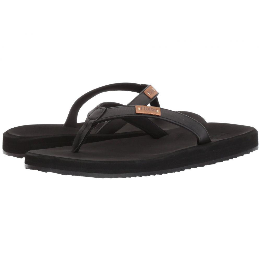 フロジョス Flojos レディース ビーチサンダル シューズ・靴【Billie】Black