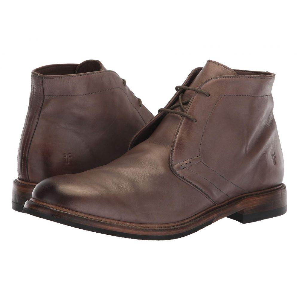 フライ Frye メンズ ブーツ チャッカブーツ シューズ・靴【Murray Chukka】Grey Washed Dip-Dye Leather