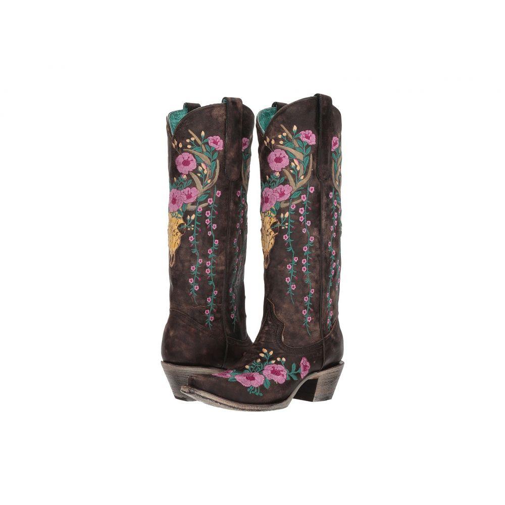 コラル Corral Boots レディース ブーツ シューズ・靴【A3621】Brown