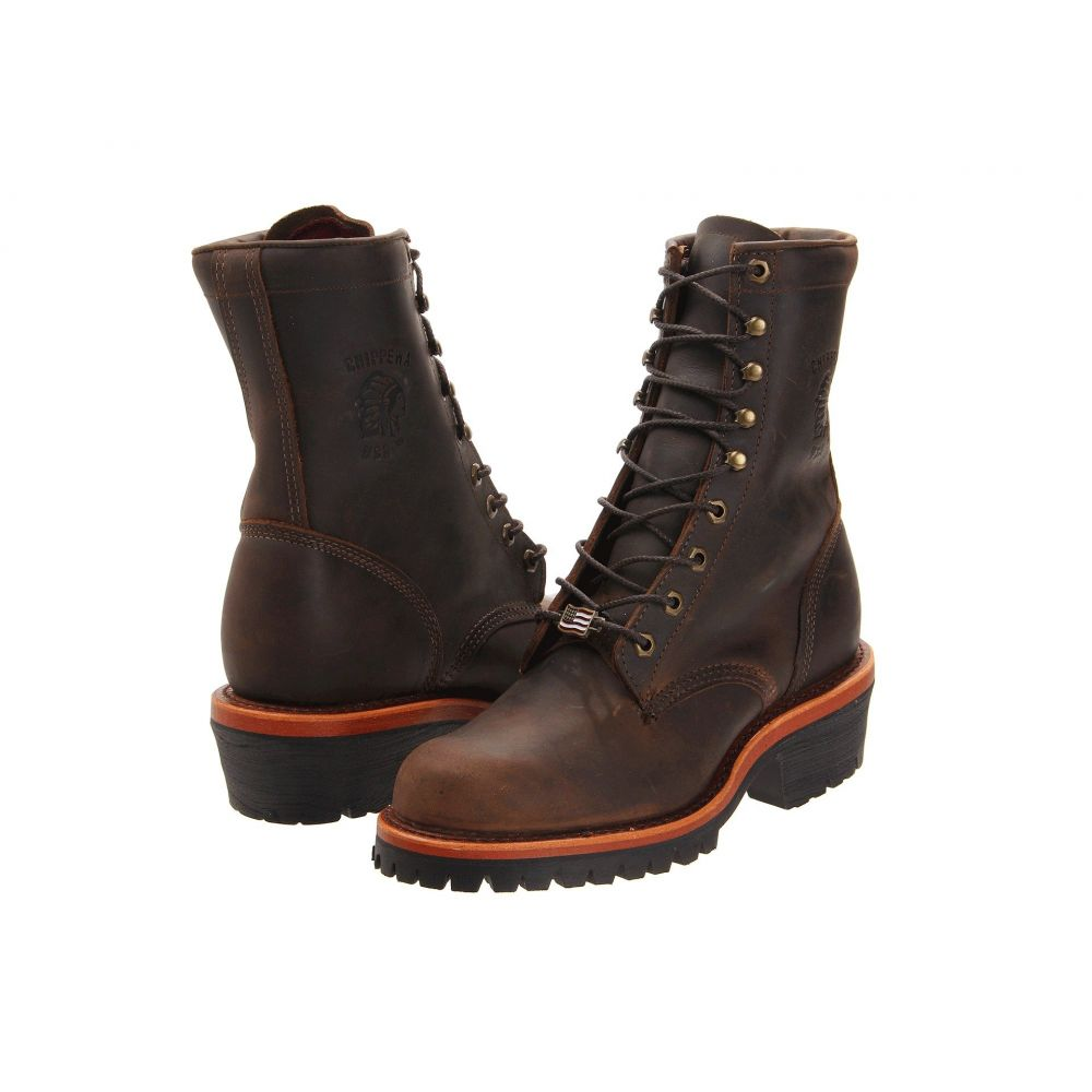 チペワ Chippewa メンズ ブーツ シューズ・靴【Apache Logger】Chocolate
