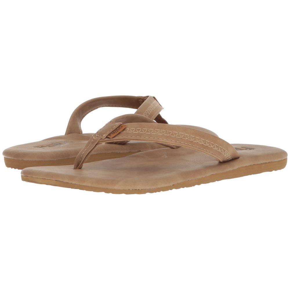フロジョス Flojos レディース ビーチサンダル シューズ・靴【Claire】Tan