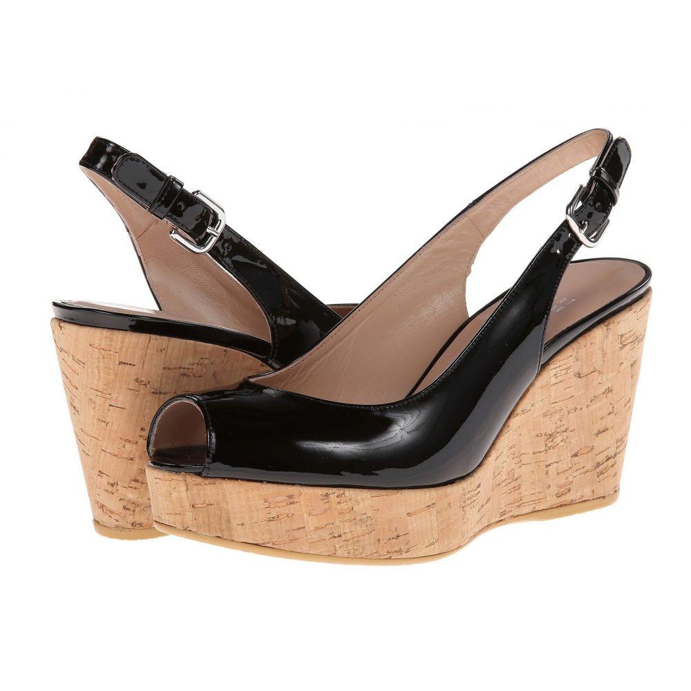 スチュアート ワイツマン Stuart Weitzman レディース ヒール ウェッジソール シューズ・靴【Jean Wedge】Black Patent