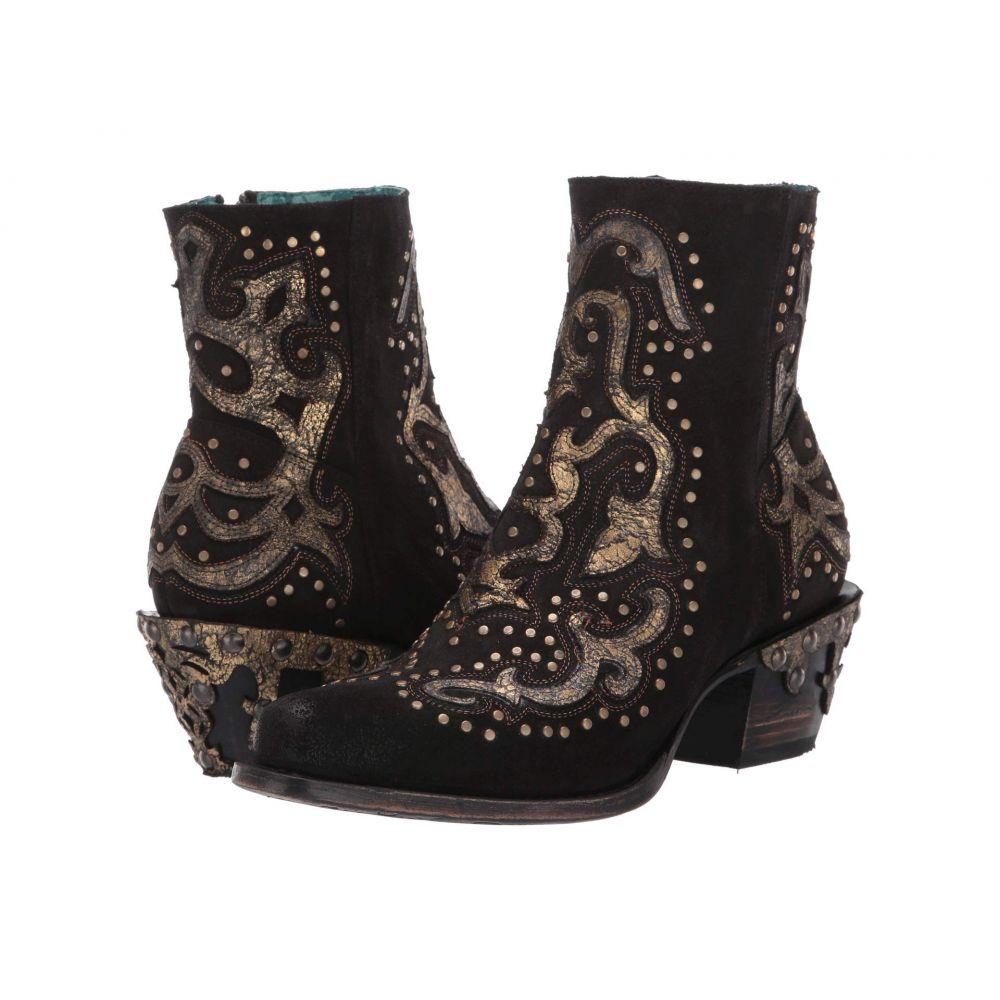 コラル Corral Boots レディース ブーツ シューズ・靴【Z0062】Black/Metallic