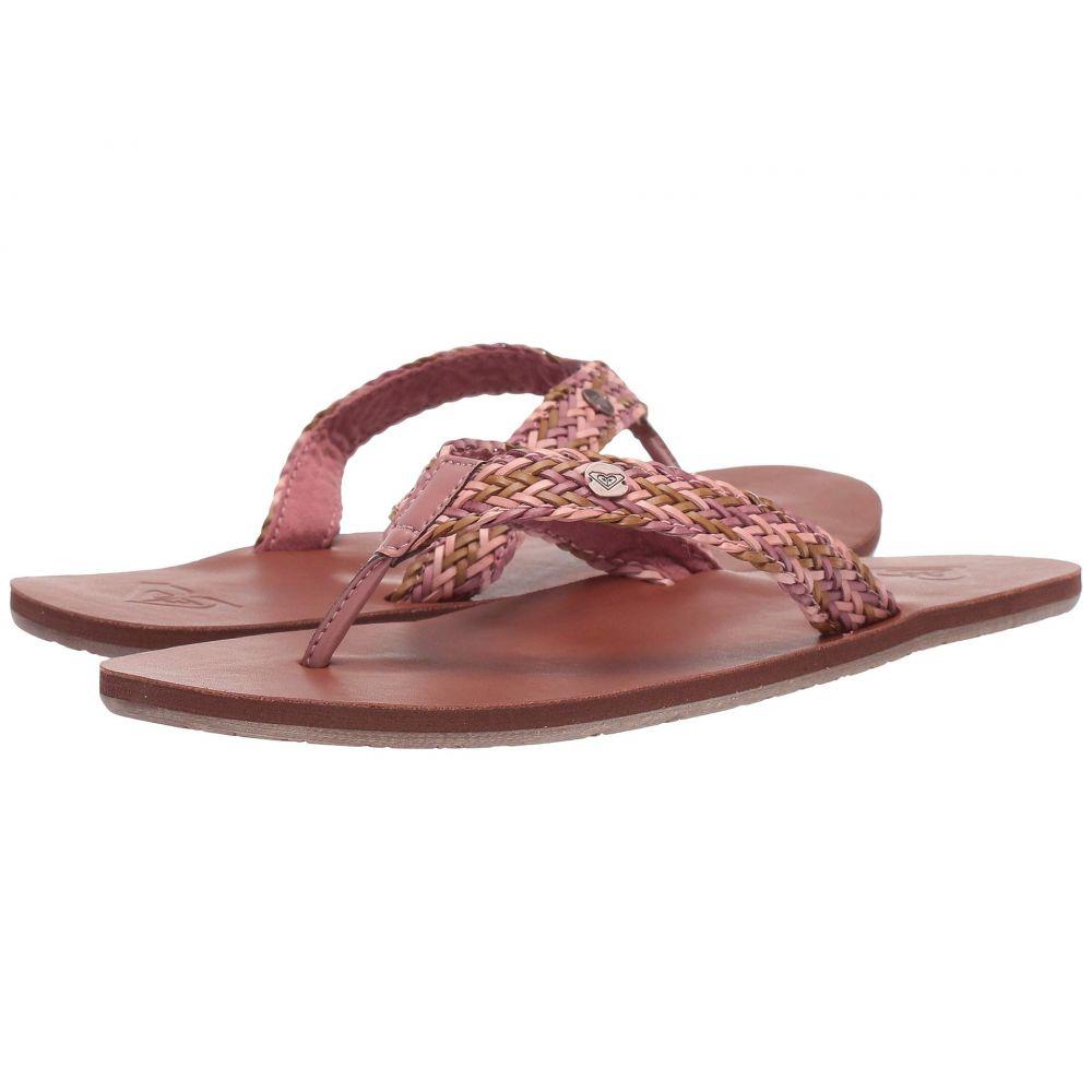 ロキシー Roxy レディース ビーチサンダル シューズ・靴【Lola】Light Pink