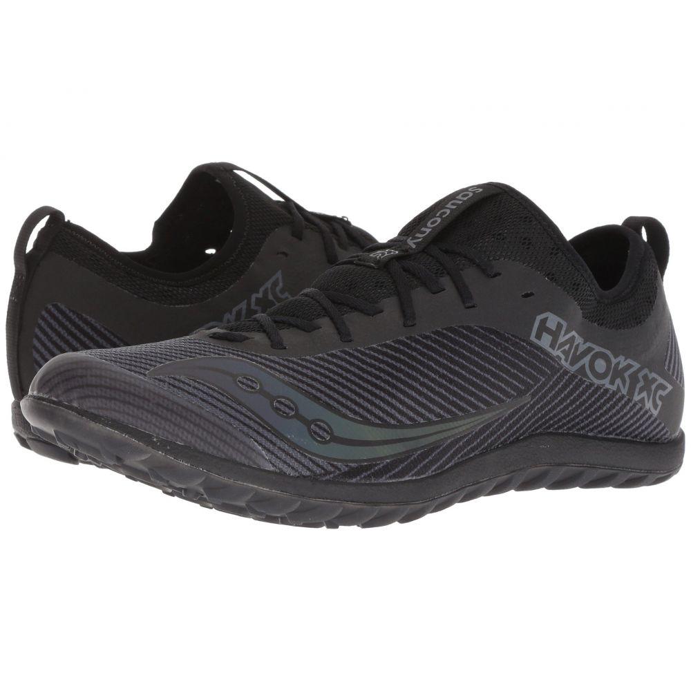 サッカニー Saucony メンズ ランニング・ウォーキング シューズ・靴【Havok XC2 Flat】Black