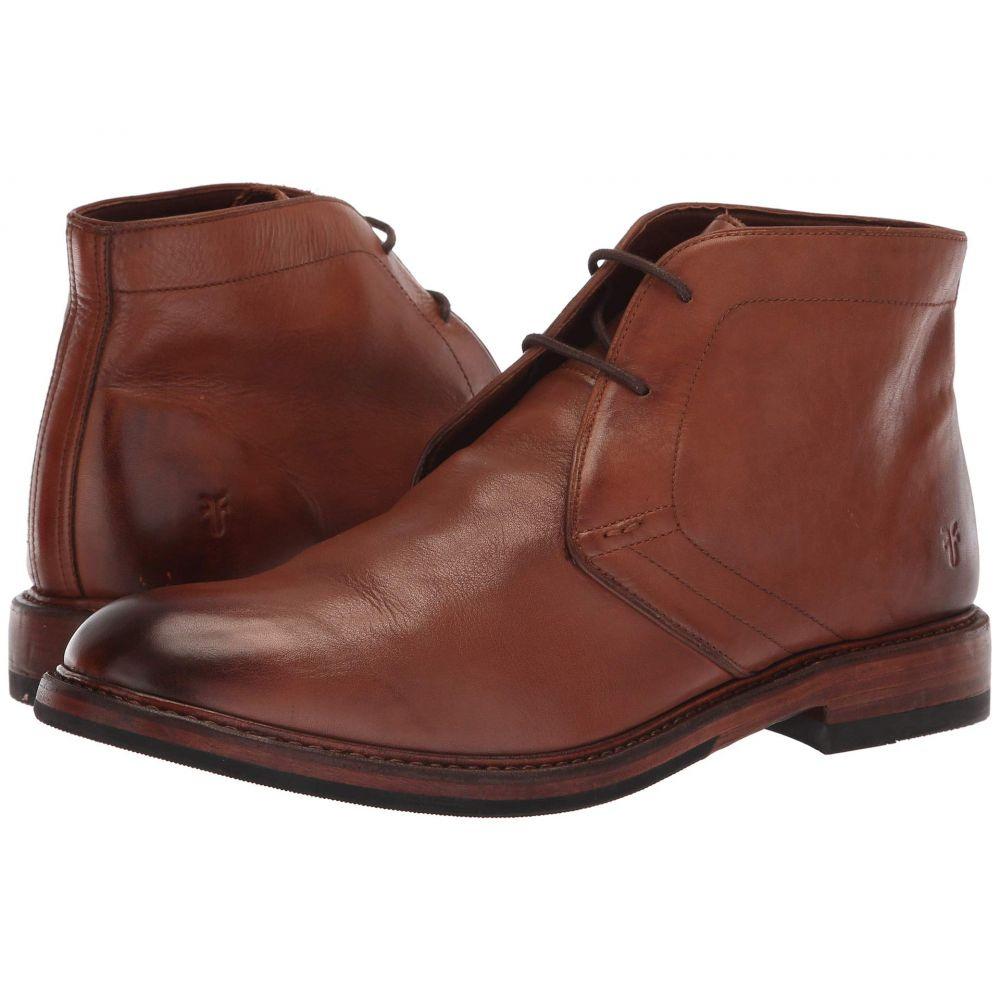 フライ Frye メンズ ブーツ チャッカブーツ シューズ・靴【Murray Chukka】Cognac Washed Dip-Dye Leather