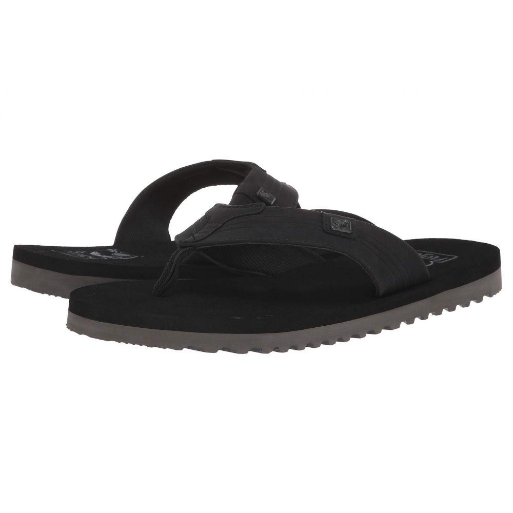 フロジョス Flojos メンズ ビーチサンダル シューズ・靴【Felix】Black/Gray