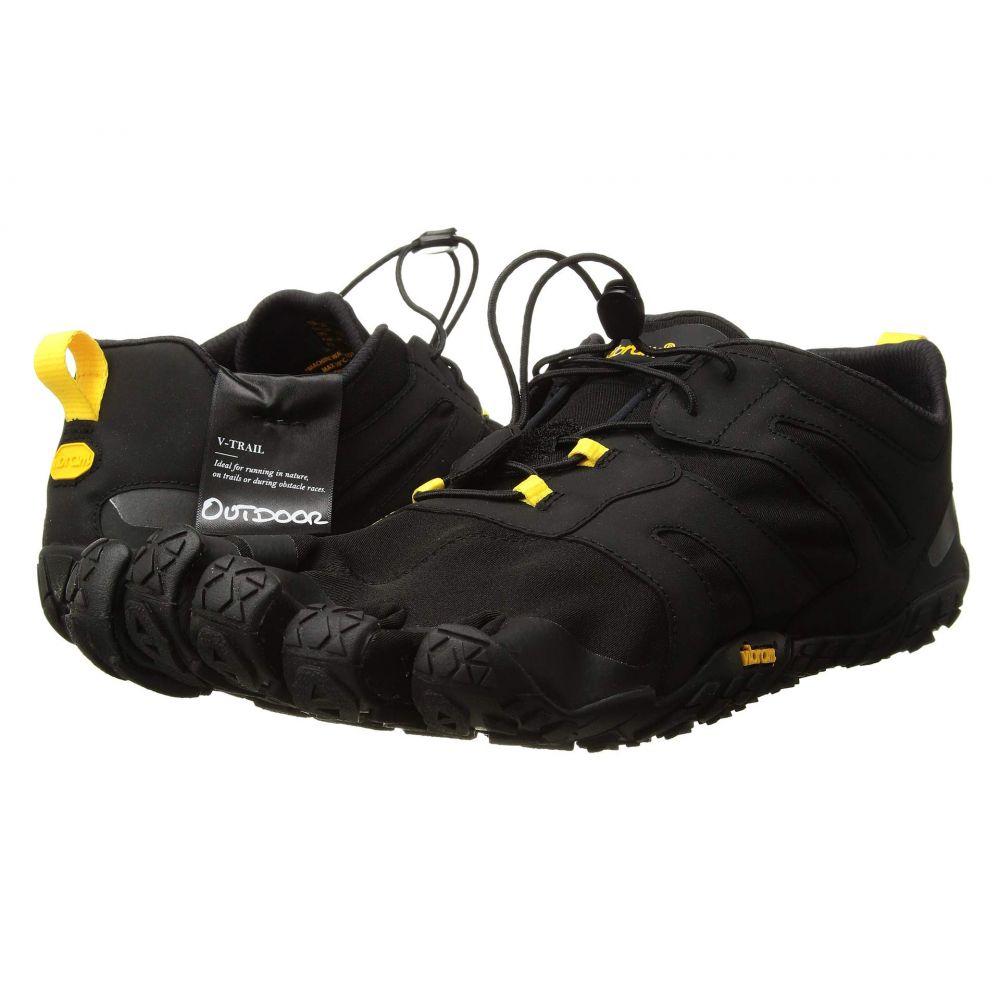 ビブラムファイブフィンガーズ Vibram FiveFingers メンズ ランニング・ウォーキング シューズ・靴【V-Trail 2.0】Black/Yellow