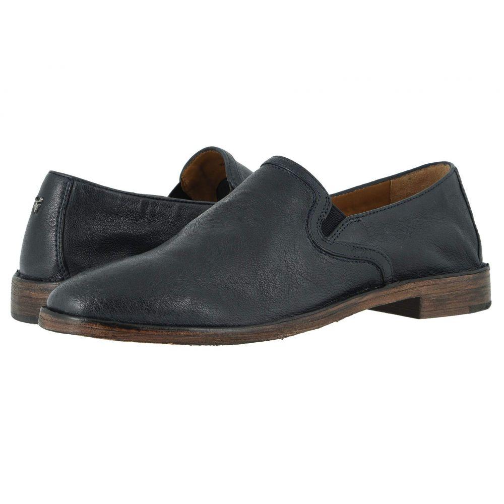 トラスク Trask レディース ローファー・オックスフォード シューズ・靴【Ali】Navy Italian Washed Sheepskin