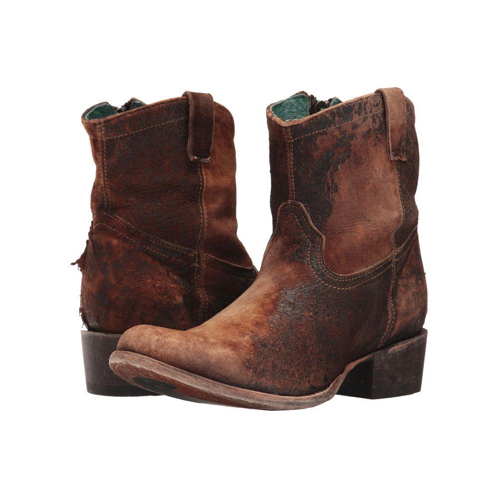 コラル Corral Boots レディース ブーツ シューズ・靴【C1064】Chocolate/Tan