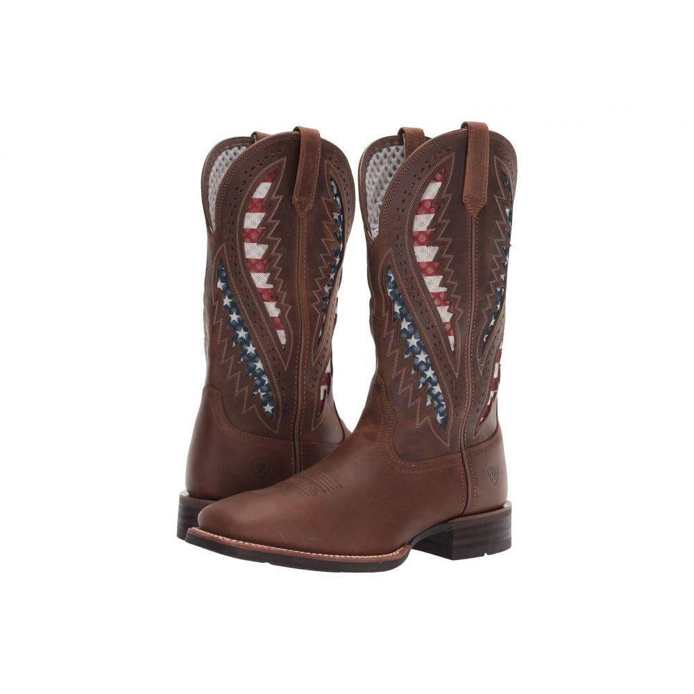 アリアト Ariat メンズ ブーツ シューズ・靴【Quickdraw Venttek】Distressed Brown